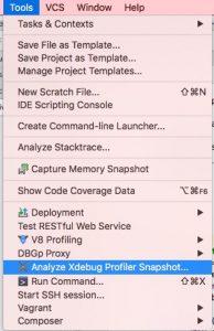 PHPStorm XDEBUG-Profiling