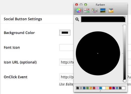 HTML5 Color Picker in Chrome (OS X)