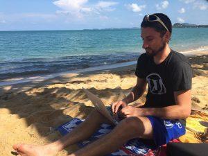 WordPress-Entwicklung am Strand
