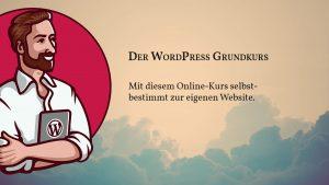 WordPress Grundkurs Coverbild
